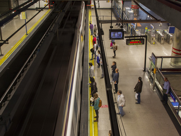 Una estación de Metro de Madrid (Europa Press).