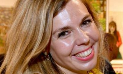 Carrie Symonds, la novia de Boris Johnson, se muda con él a Downing Street