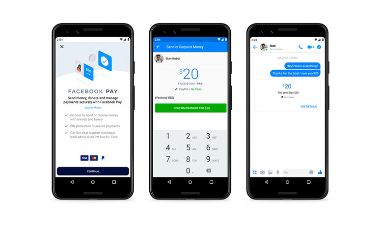 Facebook Pay, una nueva manera de pagar a través de Messenger, WhatsApp e Instagram
