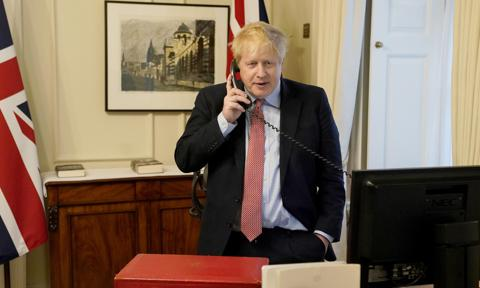 Boris Johnson Conducts Weekly Audience With Queen By Phone