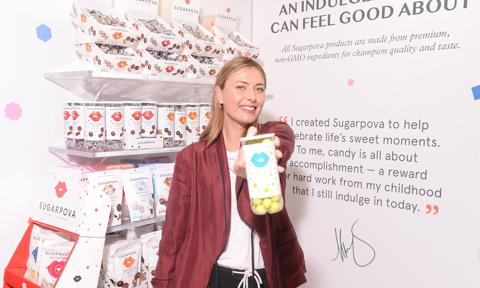 Maria Sharapova Sugarpova At The Sweets And Snacks Expo