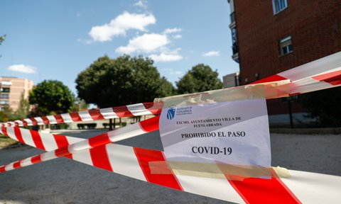 Restrictions Due To COVID-19 In Madrid