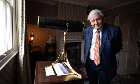 Sir David Attenborough Opens The Turner And The Thames Exhibition