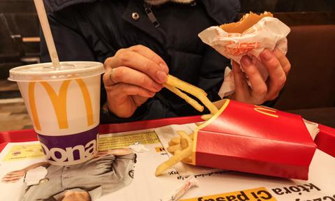 McDonald's Meal In Poland
