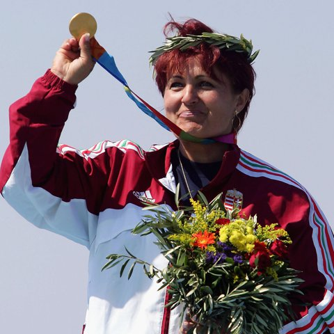 Womens Skeet Medal Ceremony